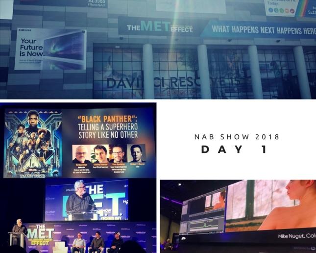 NAB SHow 2018 day 1 pt 1
