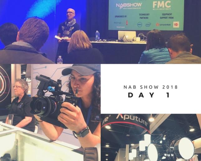 NAB SHow 2018 day 1 pt 2